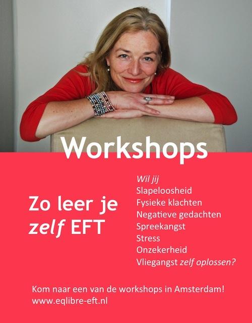 Zo leer je zelf EFT workshop